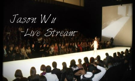 Fashion show, Jason Wu