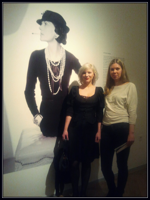 Vernisage Chanel Street Style Hamburg Germany COCO CHANEL  VERNISSAGE
