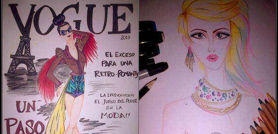 Mariposa Fashion Blog, Fashion Ilustrations, Latino Talents, mariposa fashion blog