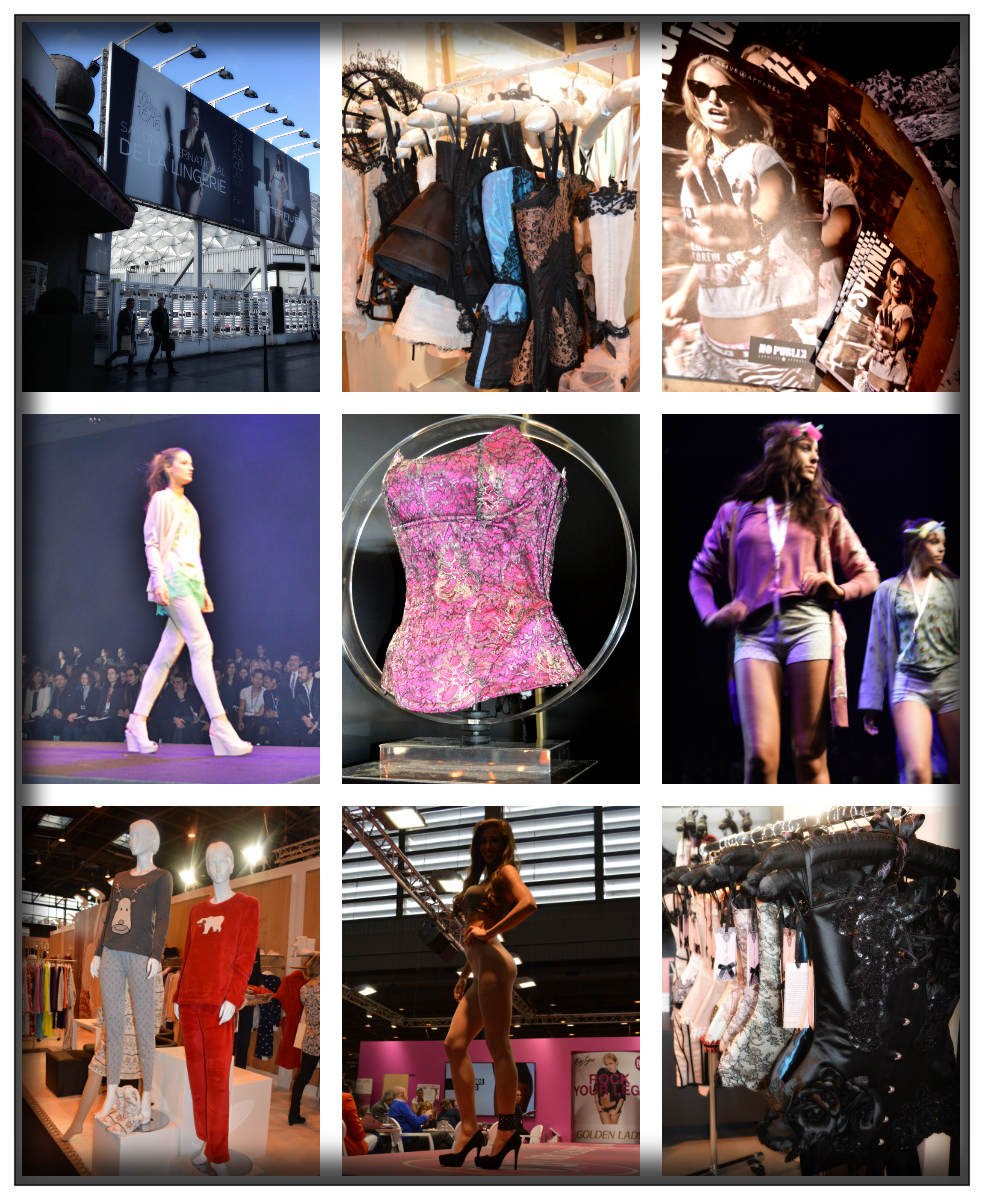 collage- Catwalk- Lingerie- Messe- Paris