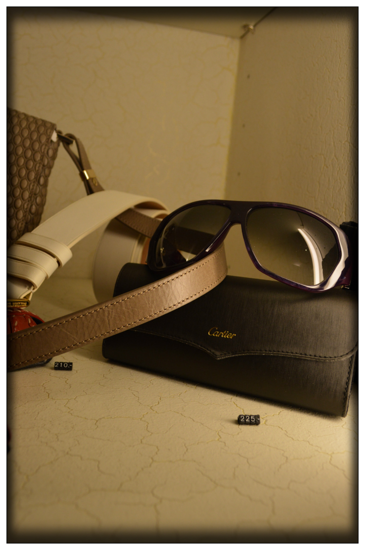 Gafas Cartier-Vintage Mode- Brille- Hight Fashion