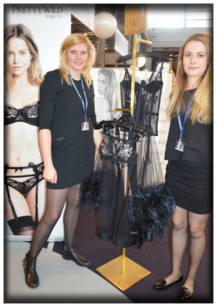 Pretty Wild- Salon International de la lingerie- Stand- 2015