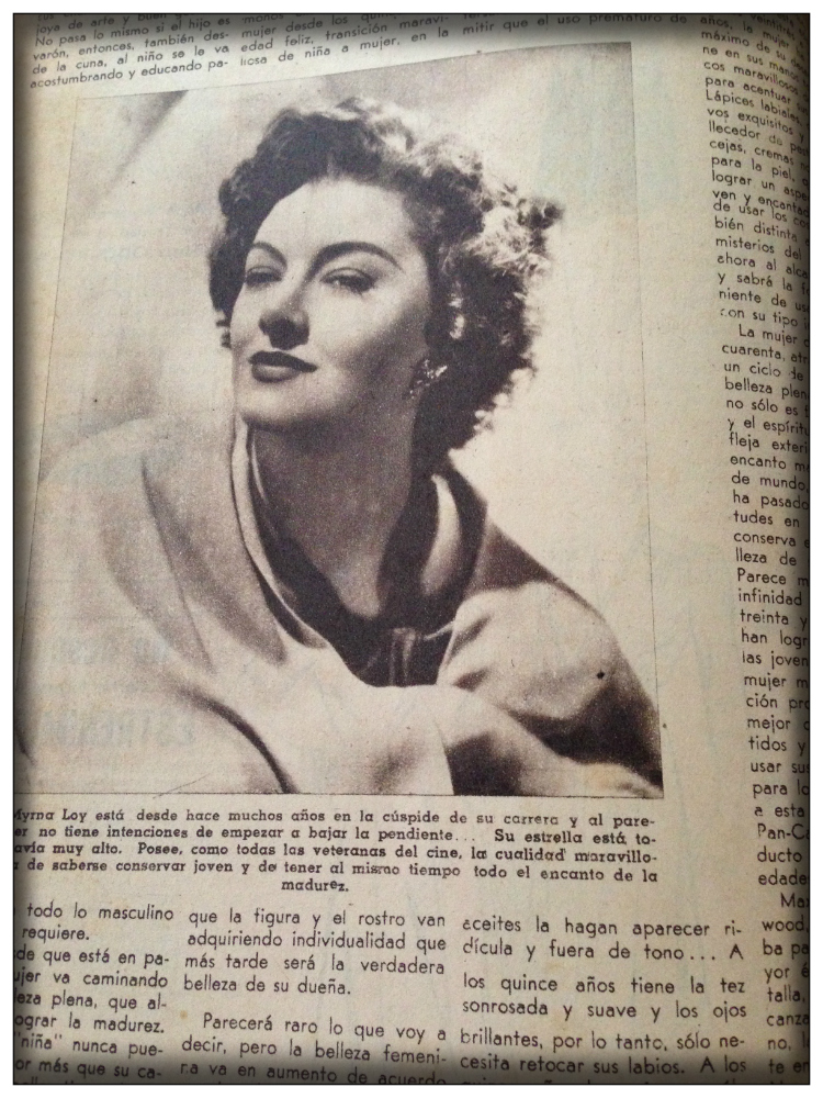 Interview- Mirna Loy- Latino Fashion Magazin- Vintage Mode
