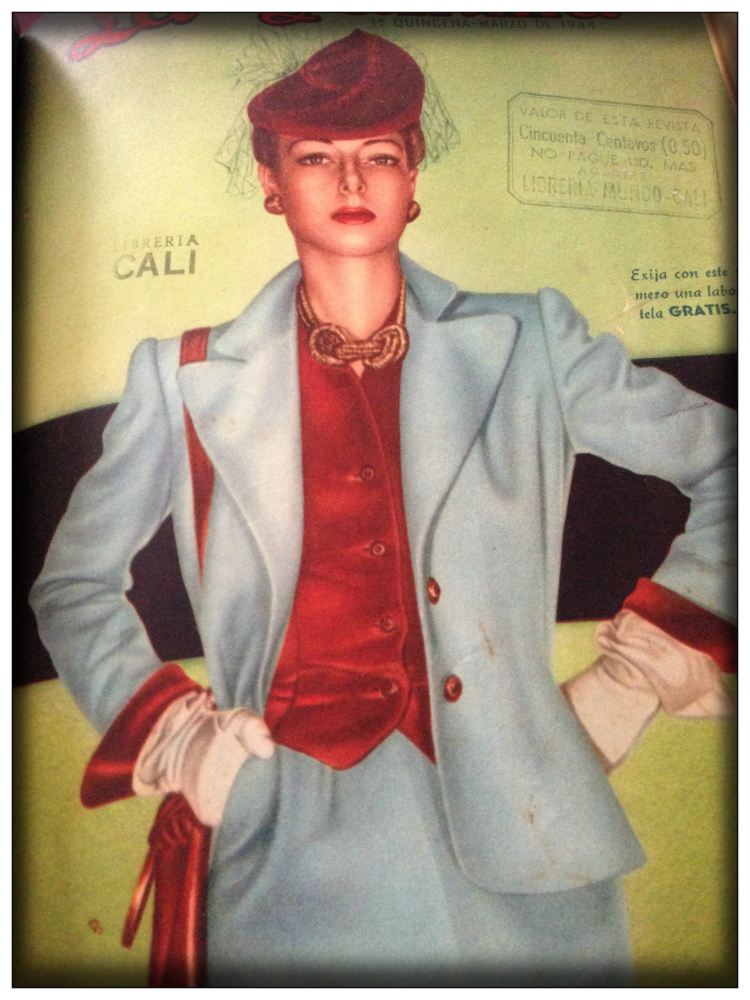 Mariposa Fashion Blog- Vintage Fashion 1940 in Lateinamerika