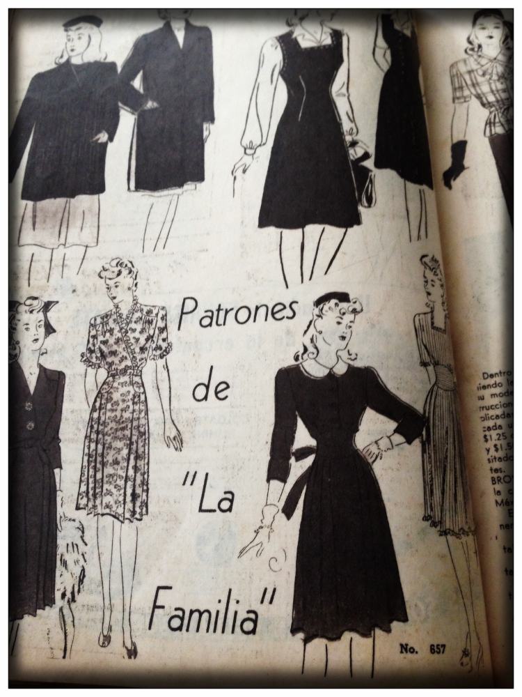 Mariposa Fashion Blog- Vintage Mode- Latino Fashion 1940