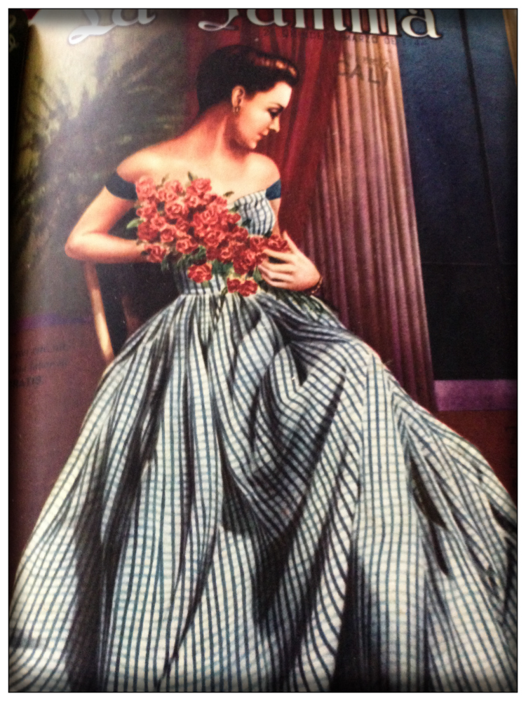 Vintage Fashion- Latino Magazin 1940- Mariposa Fashion Blog